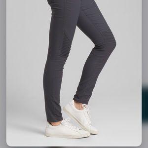 prAna Brenna Skinny Moto Detail Pant Coal Size 6
